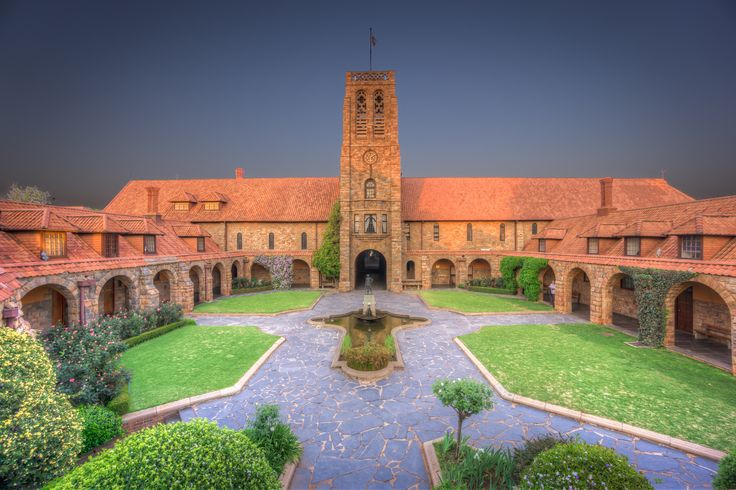 """ Walking through St John's College"" has been published on Pascal Parent Photos  More information at http://wp.me/p4WBG2-8d Photograph by Pascal Parent © 2014  #Achitecture, #Gauteng, #HDR, #Historical_Building, #Johannesburg, #South_Africa"