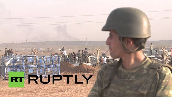 Turkey: See aftermath of blasts near Kobane