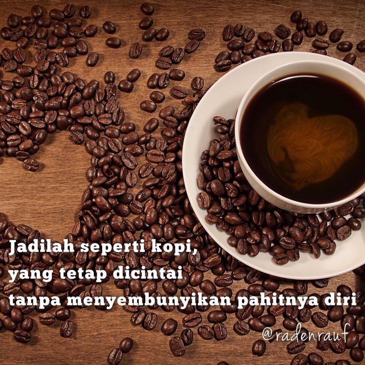 Jadilah seperti kopi