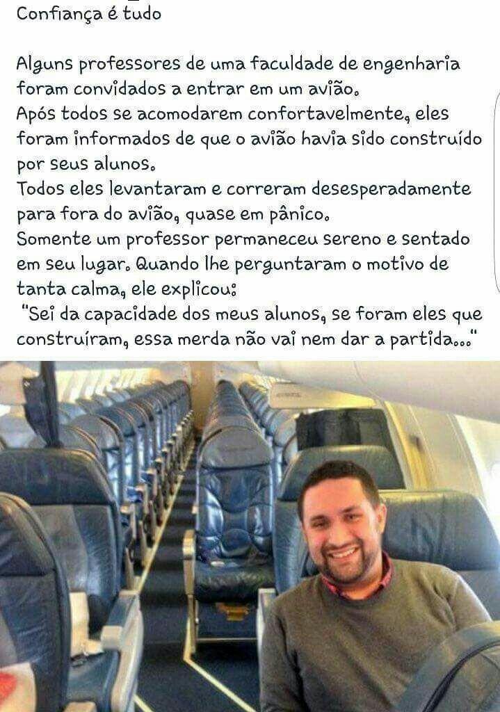 CONFIANÇA É TUDO HAHAHAHA