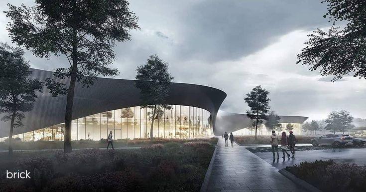 8_Brick Visualizations_ Polestar center concept from Snohetta_Budapest