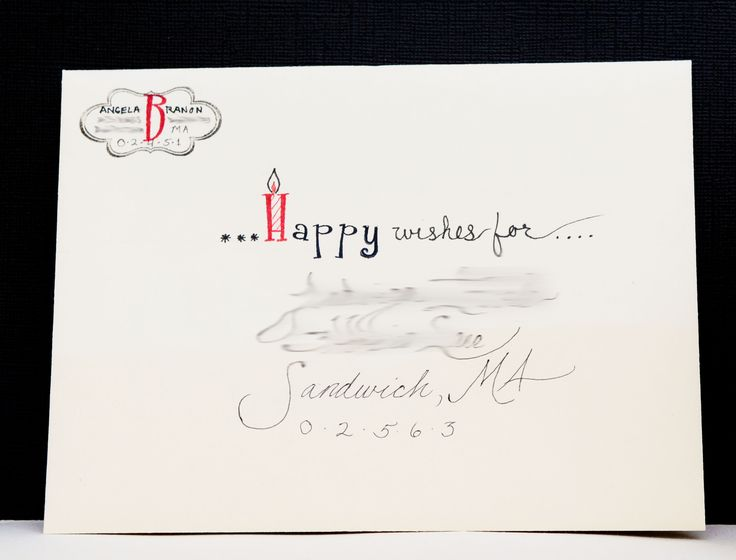 Best Lettering Images On   Envelope Art Calligraphy