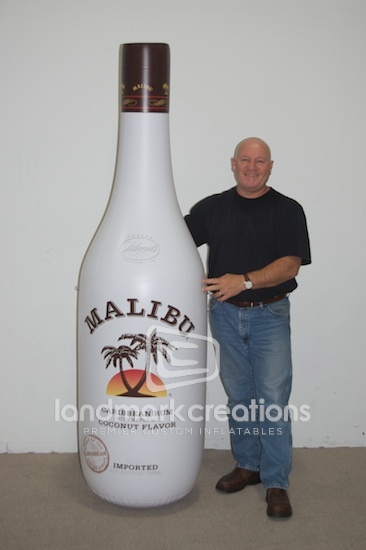 More Malibu!! Inflatable Malibu Rum Bottle Replica ... want!