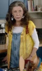Image result for grace and frankie sheer top