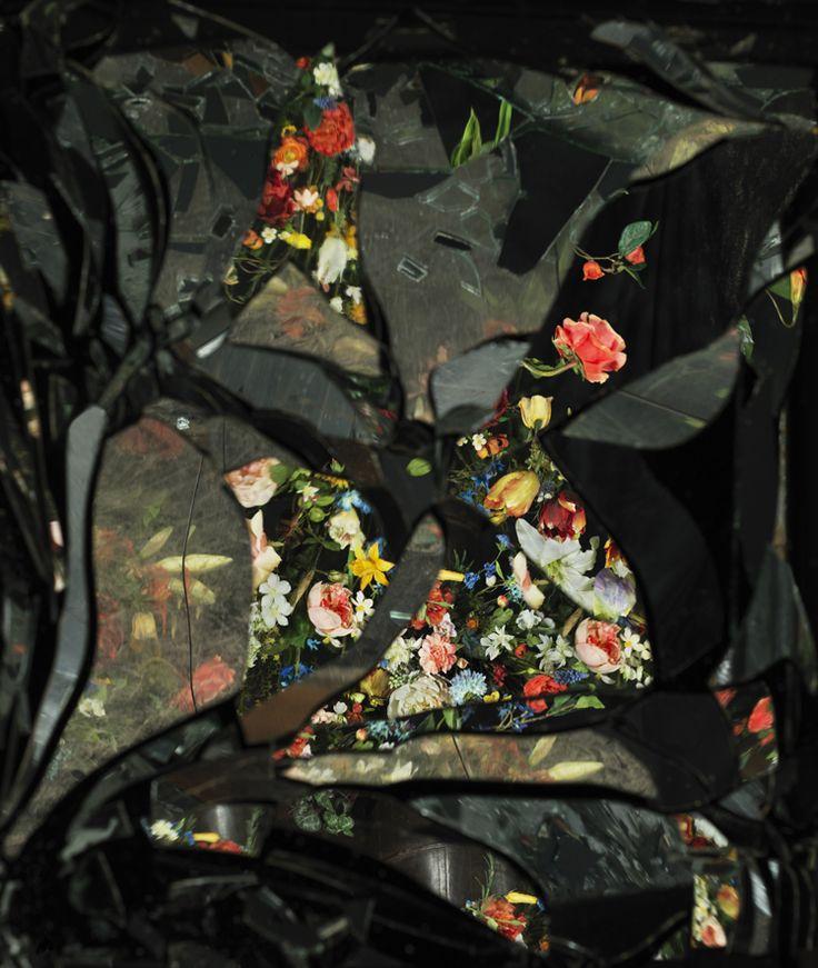Ori Gersht, On Reflecion, Fusion B01, 2014 c-print mounted on Dibond 40 1/4 x 34 in