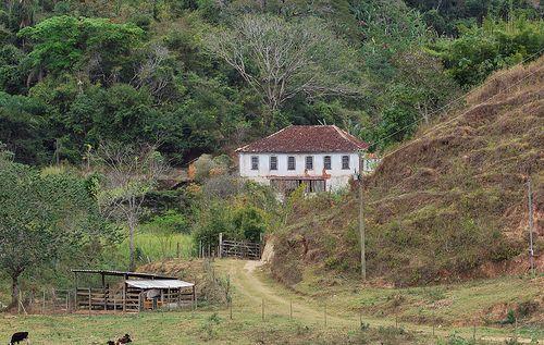 Fazenda antiga em Piau (MG)