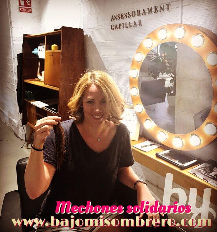 Dónanos 20cm de tu pelo y se crearán sonrisas a través de pelucas para potenciar la autoestima y la fuerza de las afectadas en la lucha contra el cáncer. ❤️💇🏻❤️💇 #mechonessolidarios #cancer #luchacancer #lluita #lluitacancer #perruques #solidaridad #solidaritat #stopcancer #brave #bravewoman #dona #dones #mujer #mujeres #womanpower #barcelona #barcelonagram #barcelonainspira #bcn #sants #lescorts