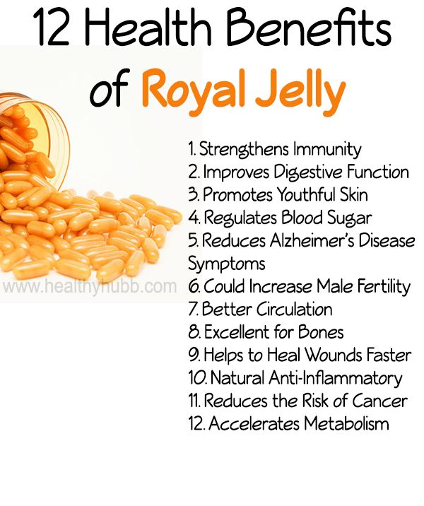 12 Health Benefits of Royal Jelly! #organic #bees #honey #wellness