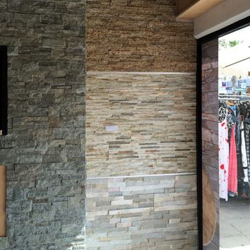 Marvelous Work In Progress ~ A Blend Of Natural Stone Walls Designed To Complement  This Holistic Therapy