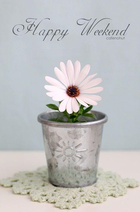 cafenoHut: Haftasonu Kartı - Happy Weekend Card