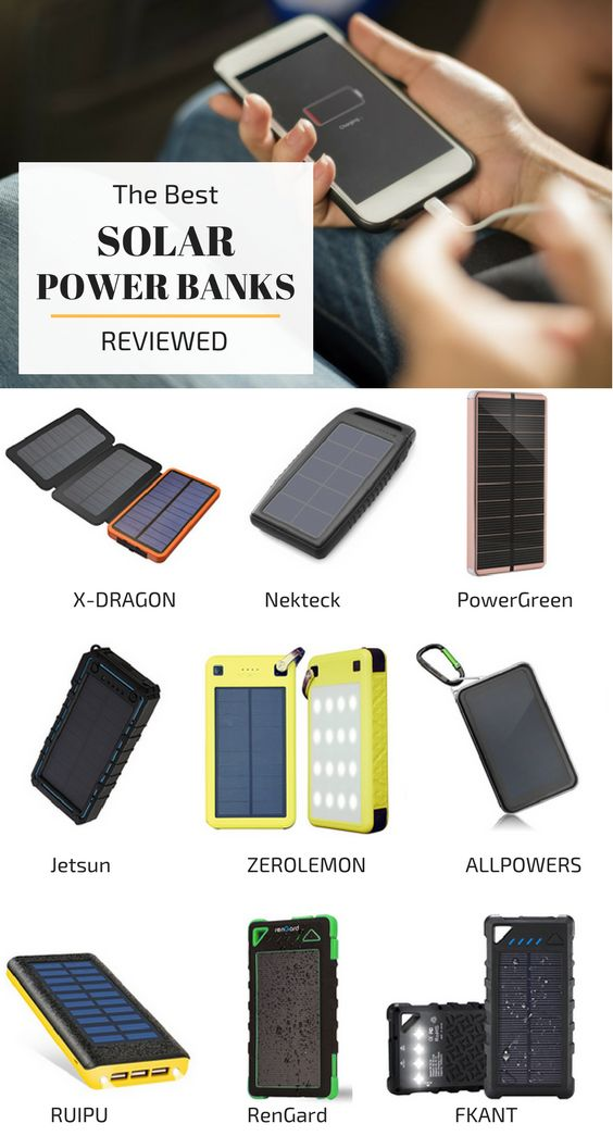 Best Solar Power Bank: 11 Top Power Banks Compared