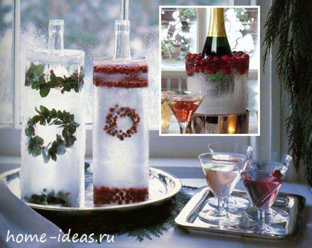 Ледяной чехол для бутылки