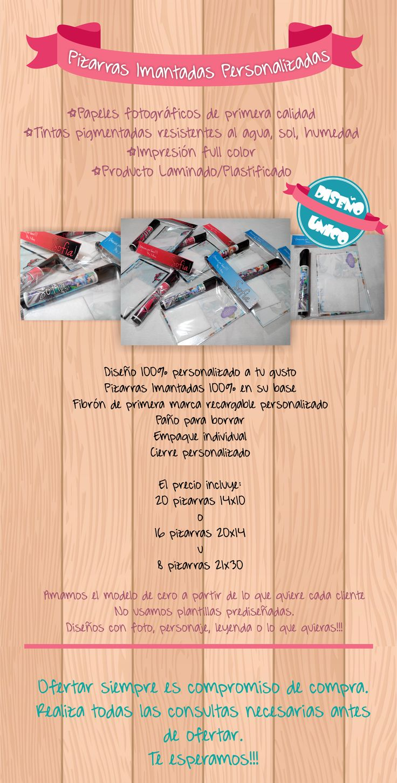 Pizarras Imantadas,souvenir,primer Añito,nacimiento,regalo - $ 550,00