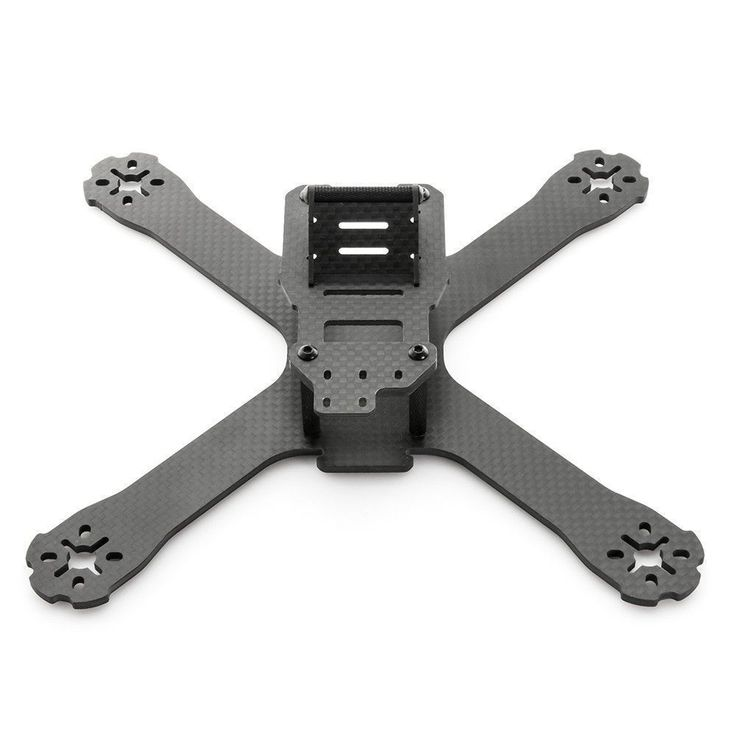 The QAV-X CHARPU FPV racing quadcopter is a symmetrical X, light weight, super stiff, finely tuned air frame designed for high performance FPV Drone Racing. The QAV-X was created in collaboration with
