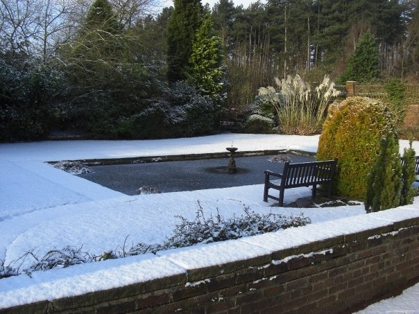 Winter Wonderland at Inglewood Manor Hotel, Cheshire, England.