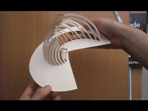 09 Amazing Kirigami Paper Art Tutorial - YouTube