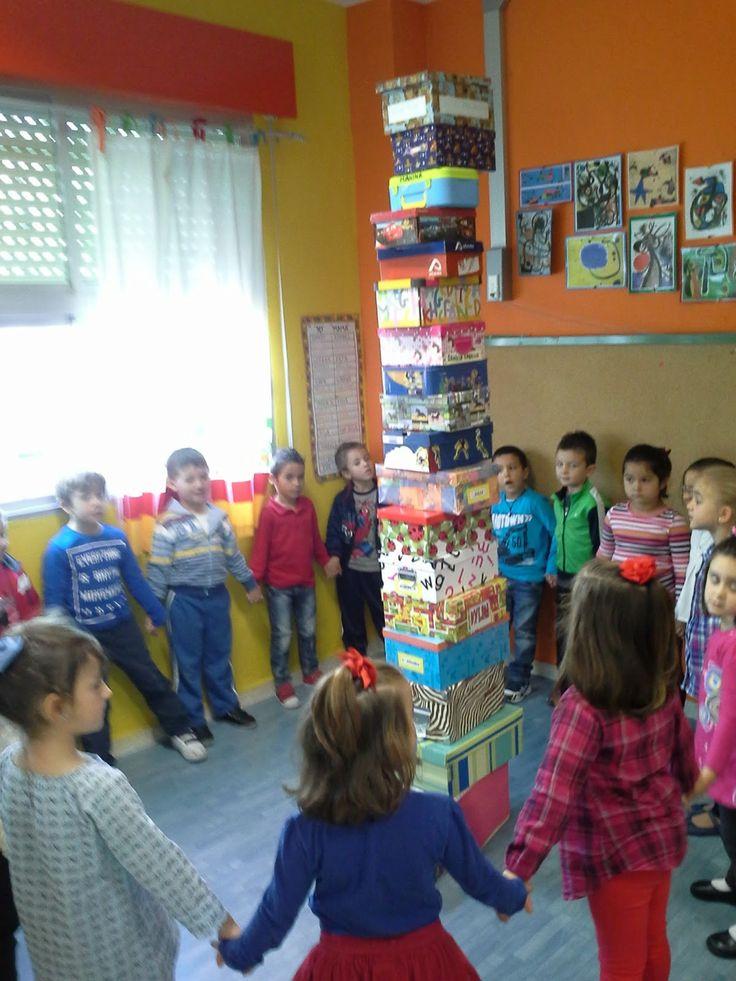 LA CAJA DE MI VIDA. Projecte fantàstic per fer amb elsl infants