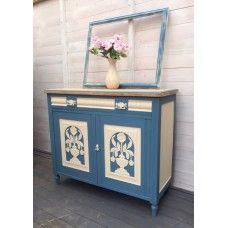 Hand Painted Odyssey Blue Sideboard
