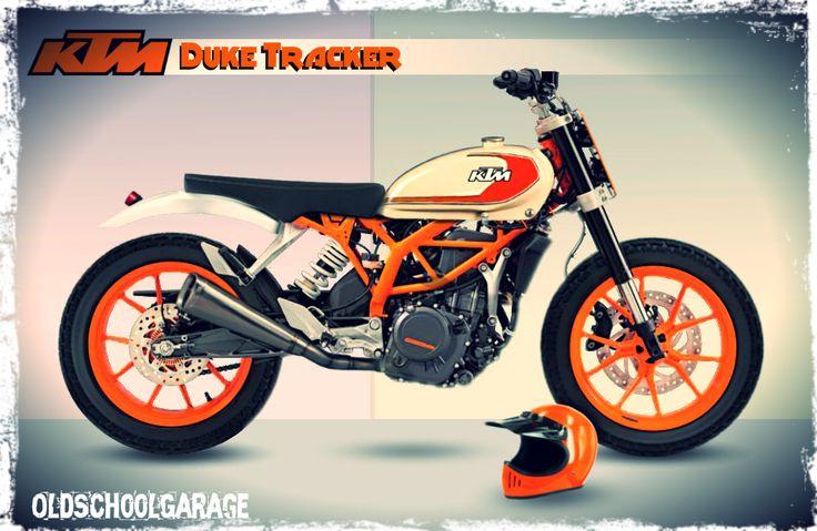 KTM # DUKE # SPECIAL MOTORCYCLES # STREET TRACKER More
