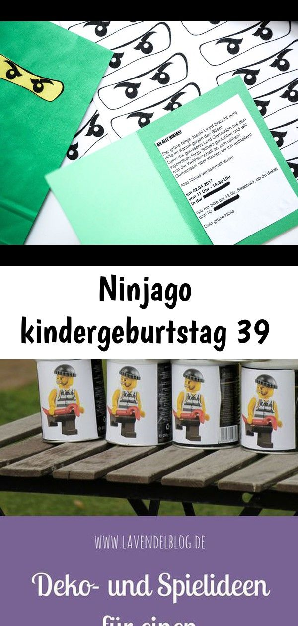 Ninjago Kindergeburtstag 39 Lego Event Ninjago