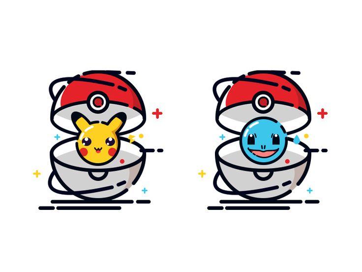 Pokemon by YYmol #Design Popular #Dribbble #shots