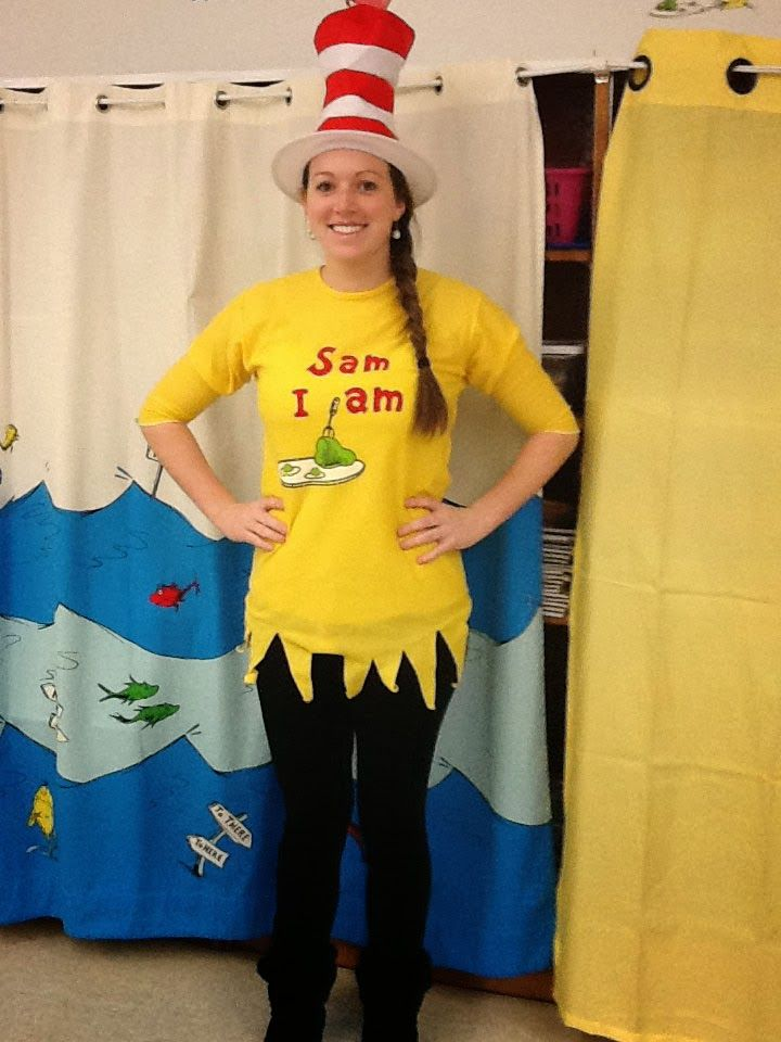 """This is actually a website with photos of staff dressed as book characters, but that is just day one of Spirit Week before winter break with the theme of """"Believe."""" Definitely a good site to find ways to incorporate self confidence in more areas than just reading. (But I want this t-shirt, too!)"""