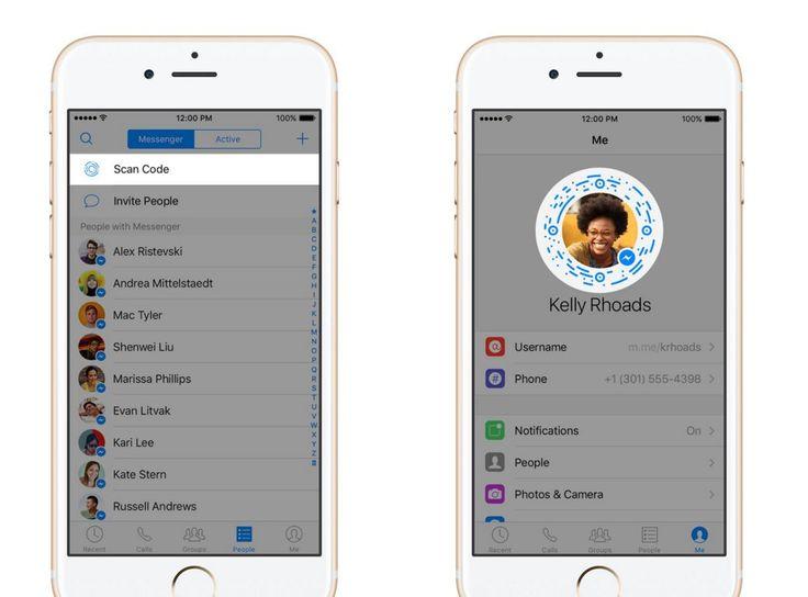 #Comunicación #facebook #messenger Facebook messenger comienza a ofrecer links, códigos y nombres a sus 900 millones de usuarios