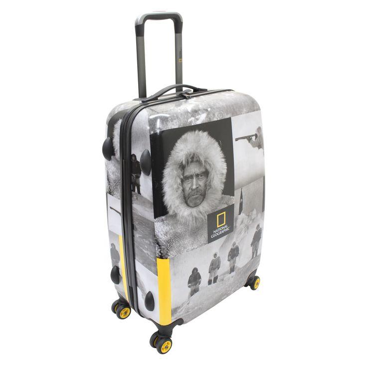 Mittlerer #Koffer National Geographic Robert E. Peary bei Koffermarkt: ✓Motiv mit legendärem Polarforscher ✓4 Rollen ✓69x47x27 cm ⇒Jetzt kaufen