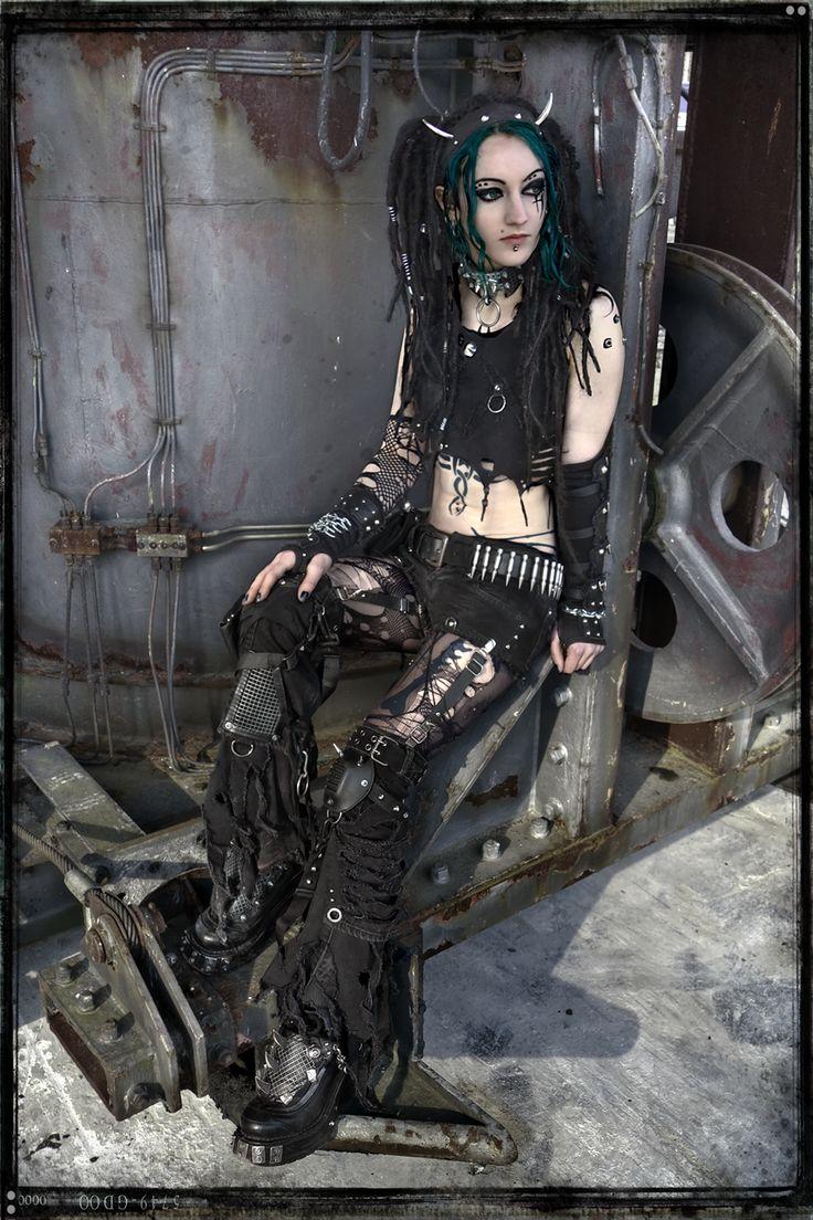 Cyber Goth - Mechanical Neglect by ~IztaJupiter on deviantART