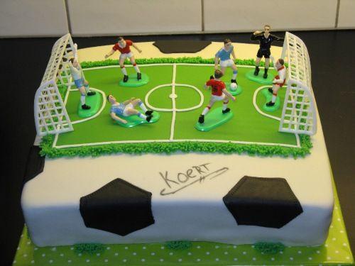 voetbal taart - Google zoeken