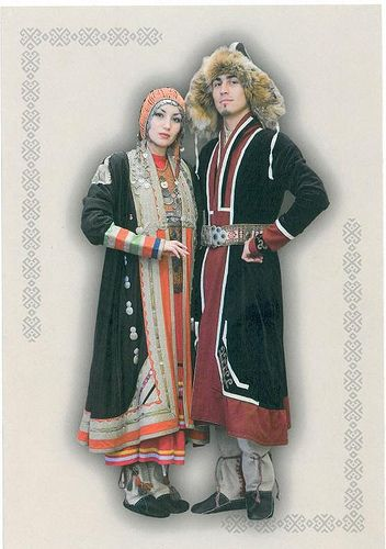 FolkCostumeu0026Embroidery Overview of the Folk Costumes of Europe Bashkir  sc 1 st  Pinterest & 201 best Central Asia Traditional Costumes images on Pinterest ...