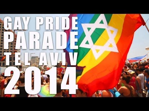 Tel Aviv Gay Pride Parade 2014 - AMAZING PARTY IN TEL AVIV with 100.000 people - YouTube