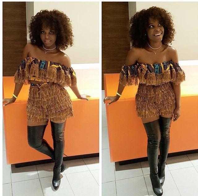 Bon vendredi sur Trace Africa avecc Daphne #instafun #cool #beautiful #photooftheday #hair #beauty