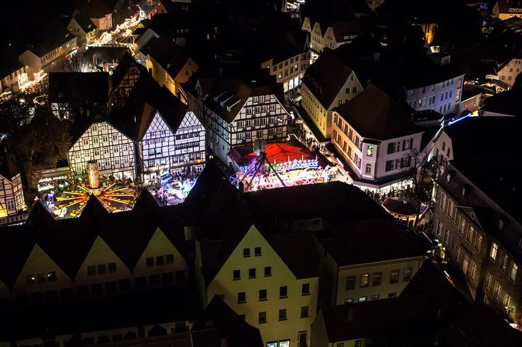 Allerheiligen Kirmes in Soest, Germany