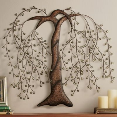 'Willow Tree' metal wall decor