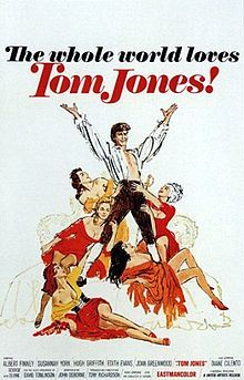Tom Jones (1963) #36 - Comedy ..... Competition: America, America,   Cleopatra, How the West Was Won, and Lilies of the Field.
