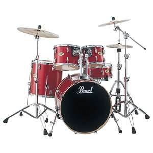 Pearl drumset. Pretty much what mine looks like.