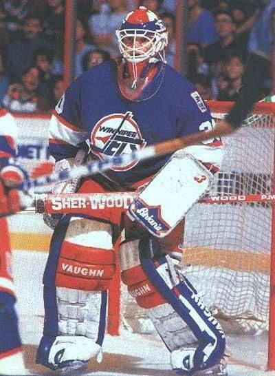 Winnipeg Jets 1.0 goalie #30 Stephane Beauregard