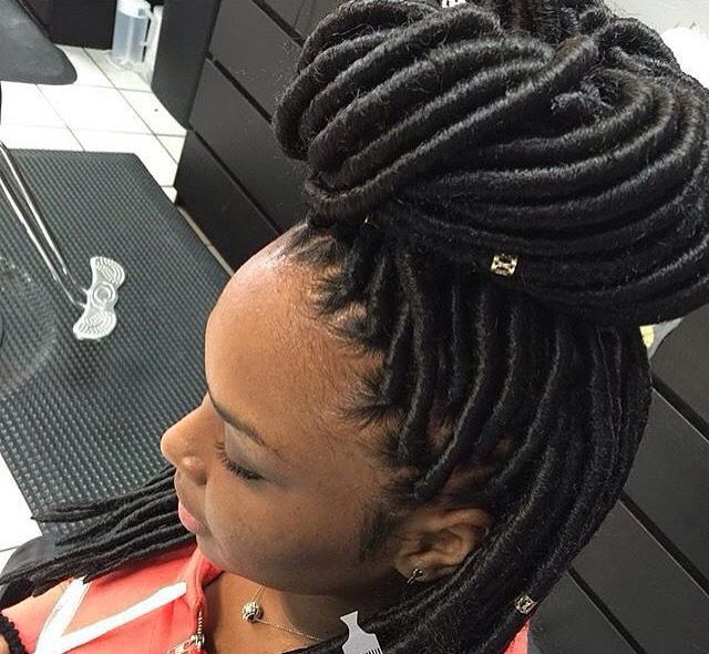 Kanekalon Dreadlock Extensions Soft Fauxlocks Braids 14