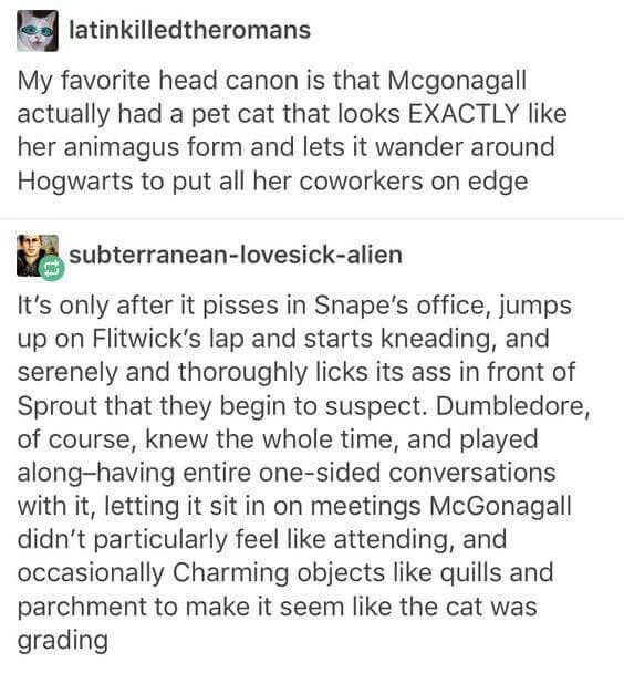 Yes! Though I think she and snape probably would have been better co workers till that last bit.  Severus