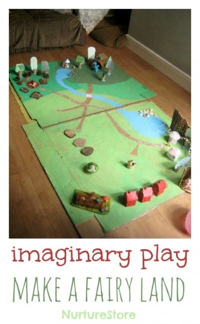 Small Worlds are little pretend play scenes, and they are a fantastic activity to set up with young children. You don't need a lot of complicated props, and you can set one up on whatever theme your child is interested in.