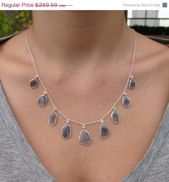 1000 ideas about sapphire necklace on pinterest