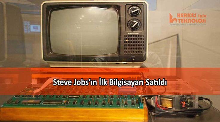 Apple'ın kurucularından Steve Jobs ve Steve Wozniak'ın birlikte geliştirdiği ilk bilgisayar açık artırma ile satıldı.