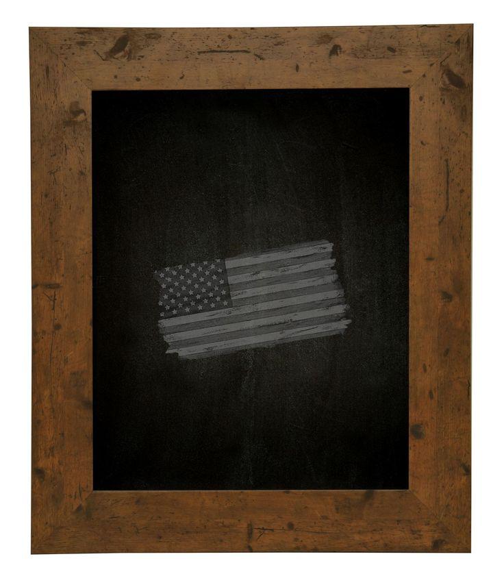 Rustic Light Walnut Chalkboard