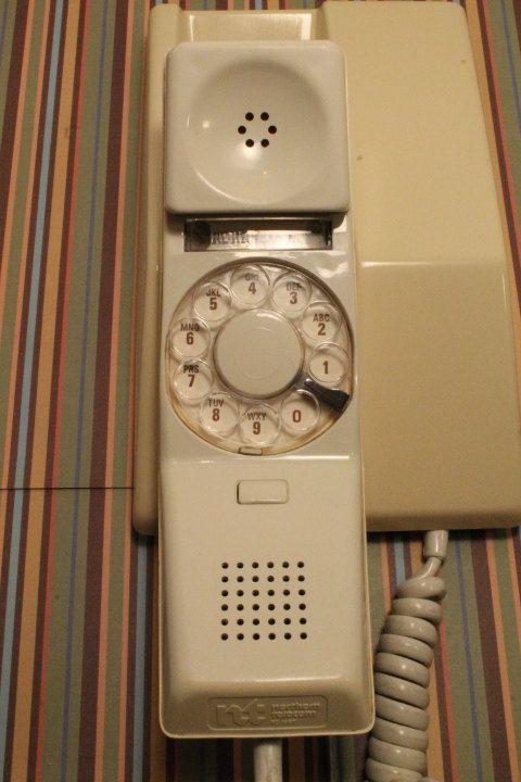 Vintage Telephone Rotary Telephone Wall by ClockworkRummage, $18.75