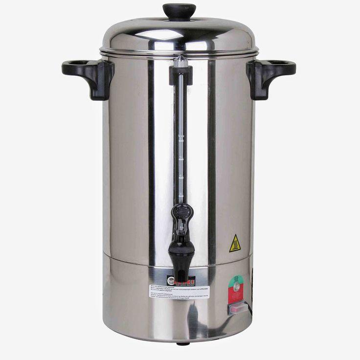 Filtru de Cafea de 6 litri, Percolator Capacitate Mare, din Inox, Pret redus, Profesional