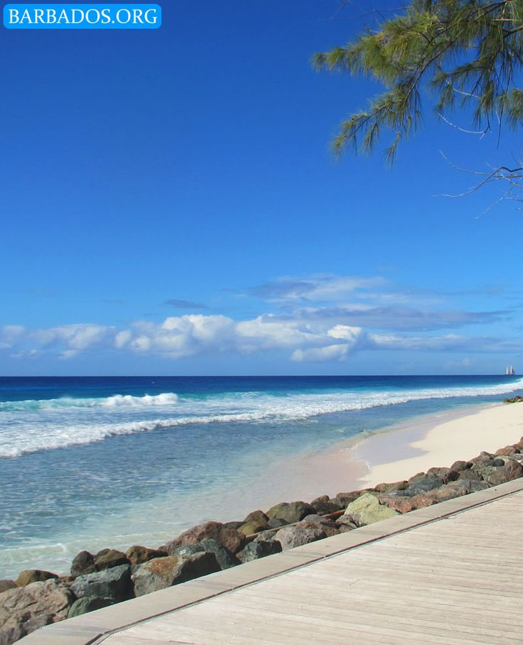 Another stunning day along the Barbados south coast boardwalk.