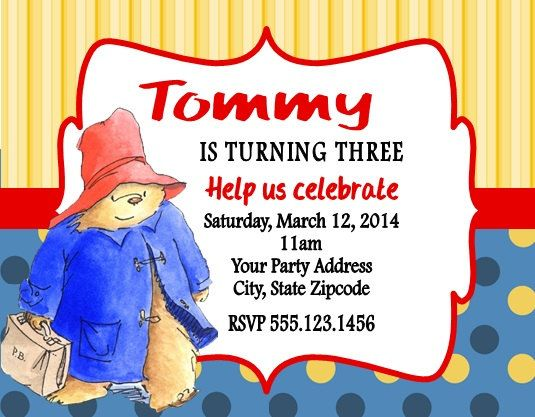 17 Best images about Birthday Party Invitations – Childrens Birthday Party Invitations