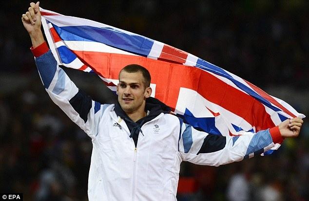 Robbie Grabarz - Bronze, High Jump