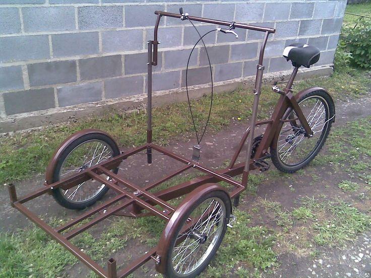 Велосипед трёхколёсный для уличной торговли кофе в Днепропетровске от компании Рымар
